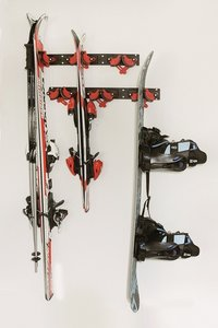 set FLIP-CLIP ski - snowboard ophangsysteem 3 delig